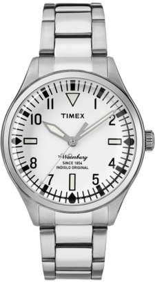 Timex R) Waterbury Bracelet Watch, 38mm