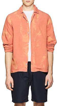 Saturdays NYC Men's Canty Linen-Blend Boxy Shirt