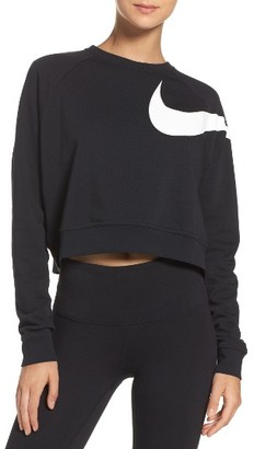 Women's Nike Dry Versa Training Crop Top $65 thestylecure.com