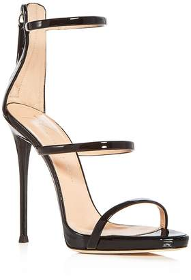 Giuseppe Zanotti Women's Vernice Patent Leather Ankle Strap High Heel Sandals