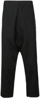 Army Of Me drop crotch trousers