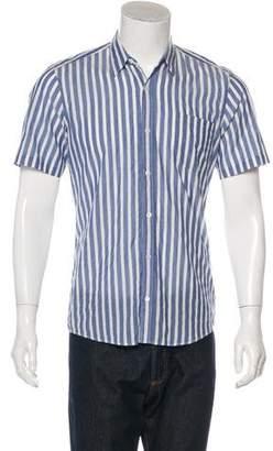 Dries Van Noten Striped Short Sleeve Shirt w/ Tags