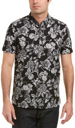Ted Baker Oversized Floral Shirt