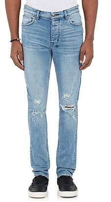 Ksubi Men's Chitch Distressed Slim Jeans - Blue