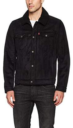 Levi's Men's Faux Shearling Sherpa Trucker Jacket