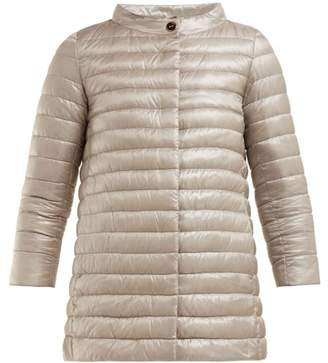 Herno Rosella Quilted Jacket - Womens - Silver