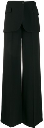 VIVETTA deconstructed tailored trousers