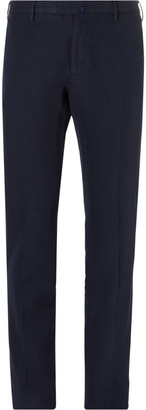 Incotex Slim-Fit Linen and Cotton-Blend Chinos $355 thestylecure.com