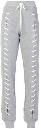 Jonathan Simkhai lace-up detail track pants