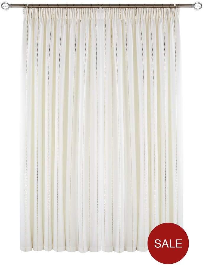 Myleene Klass Home Glamour Hidden Tab Lined Curtains