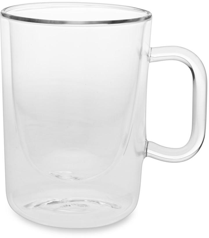 Williams-Sonoma Williams Sonoma Double-Wall Glass Coffee Cups