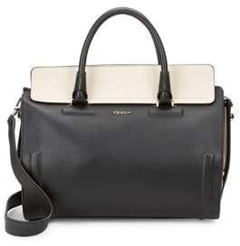 Furla Valentina Leather Satchel