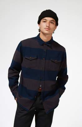 Katin Smith Stripe Flannel Shirt Jacket