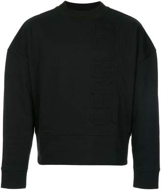 Cerruti logo cropped sweater