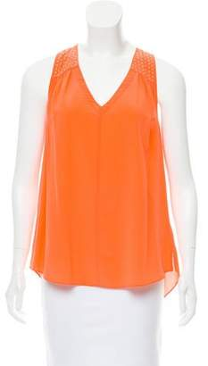 Rebecca Taylor Sleeveless Silk Top