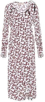 Marni Floral-printed midi dress
