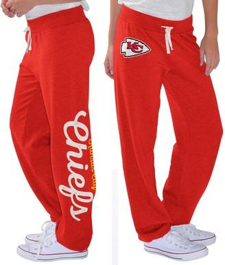 G Iii Women's G-III 4Her by Carl Banks Red Kansas City Chiefs Scrimmage Fleece Pants