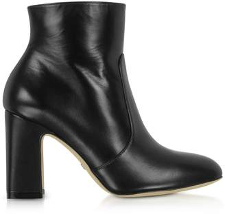 Stuart Weitzman Black Nappa Leather Nell 80 Boots