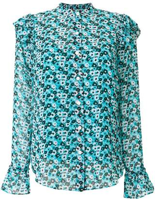MICHAEL Michael Kors floral-print ruffled shirt