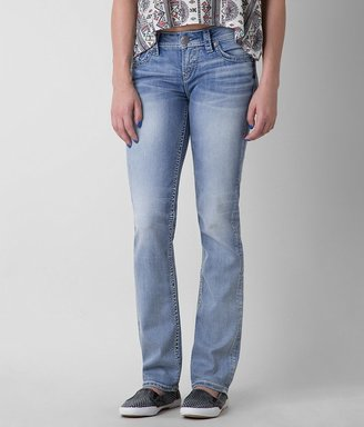 Silver Aiko Straight Stretch Jean $89 thestylecure.com