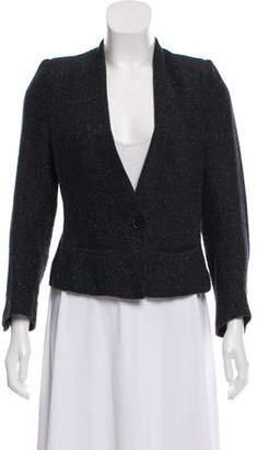 Etoile Isabel Marant Tweed Collarless Jacket