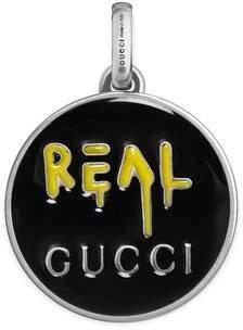Gucci GucciGhost charm in silver