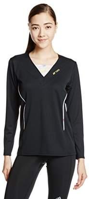 Yonex (ヨネックス) - (ヨネックス)YONEX WOMEN ロングスリーブTシャツ 16256 007 ブラック XO