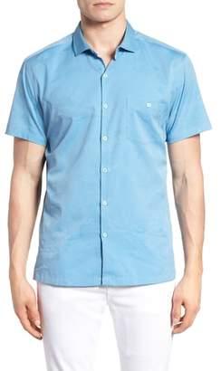 DAY Birger et Mikkelsen Tori Richard Seas the Trim Fit Cotton & Silk Camp Shirt