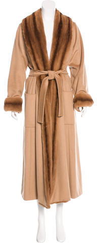 Max Mara MaxMara Camelhair Duster Coat