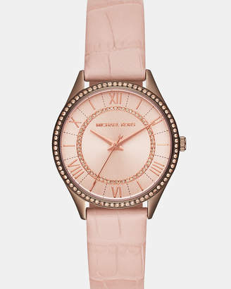 Michael Kors Lauryn Pink Analogue Watch