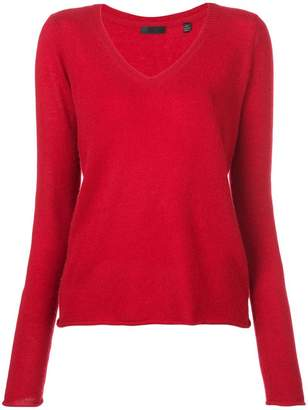 ATM Anthony Thomas Melillo V-neck knit jumper