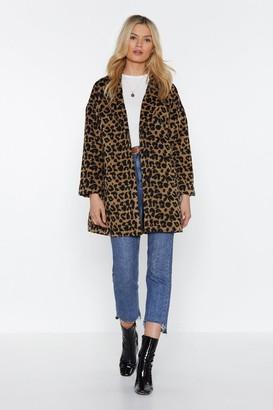 Nasty Gal This Ones Fur You Leopard Coat