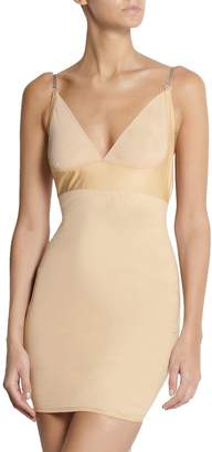 cc48e67d2e AICONL Women s Sexy Control Slip Dress Seamless Shapewear Full Body Shaper  Under Dresses