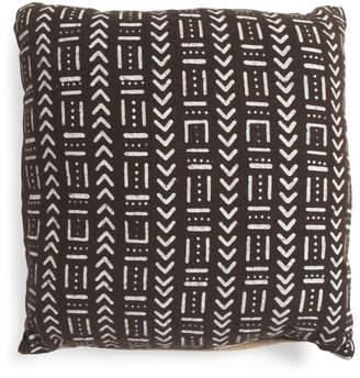 20x20 Multi Pattern Mudcloth Pillow