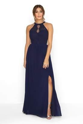 Little Mistress Navy Lace Dress