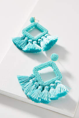 BaubleBar Laniyah Fringed Drop Earrings