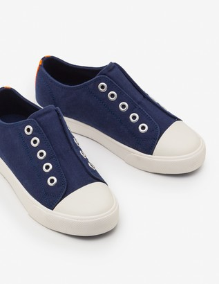 Boden Laceless Canvas Pull-Ons