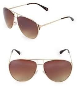 Balmain 63MM Aviator Sunglasses