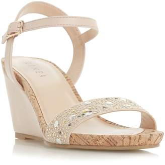 Linea Kendall Trim Detail Wedge Shoes