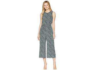 MICHAEL Michael Kors Tiny Wildflower Jumpsuit Women's Jumpsuit & Rompers One Piece