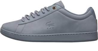 77980a3aa Lacoste Mens Carnaby EVO G SPM Trainers Light Blue