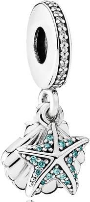 Pandora Tropical Starfish & Seashell Dangle Charm