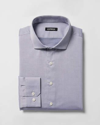 Express Classic Dobby Spread Collar Dress Shirt