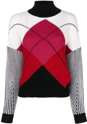 Sportmax Code diamond pattern jumper