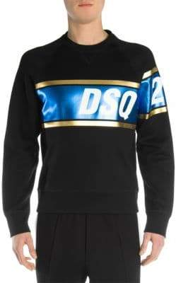 DSQUARED2 Laminated Logo Sweatshirt