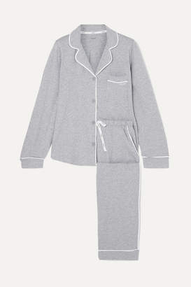 a27222626d3ab DKNY Signature Cotton-blend Jersey Pajamas - Gray