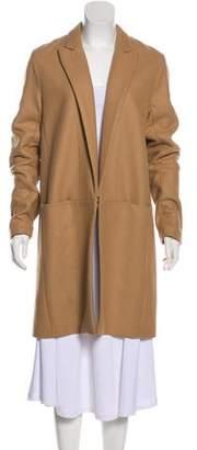 Theory Wool Knee-Length Coat