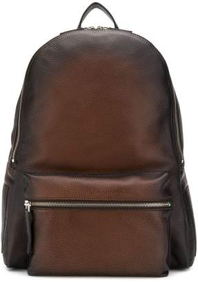 Orciani zipped pocket backpack