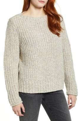 Caslon Boat Neck Sweater (Regular & Petite)