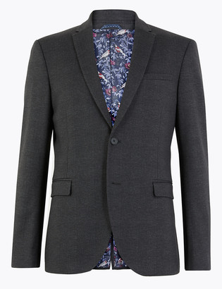 Marks and Spencer Checked Skinny Fit Jacket